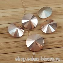 Rivoli Crystal Rose Gold, 14 мм